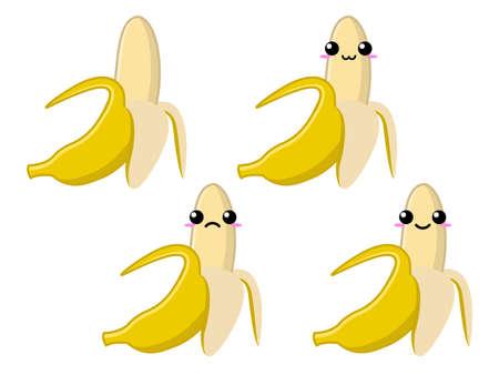 platano maduro: Carácter maduro plátano