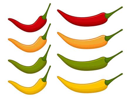 chili pepper: Isolated chili