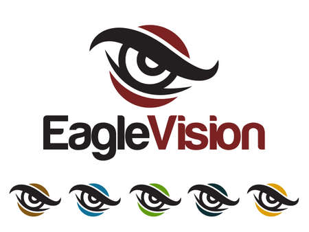 eye red: Eagle Logo