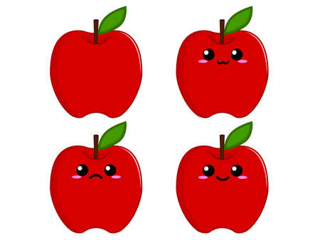 apple character: Apple character