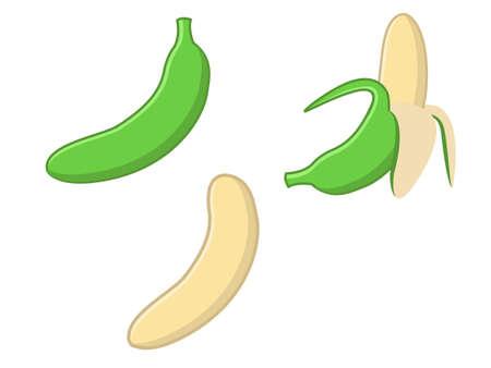 crude: Crude Banana Illustration