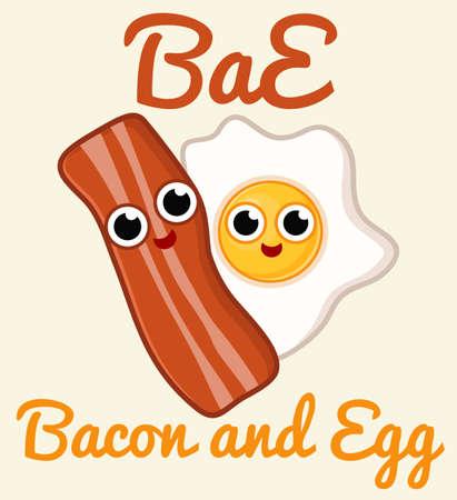 bacon love: Bacon and Egg