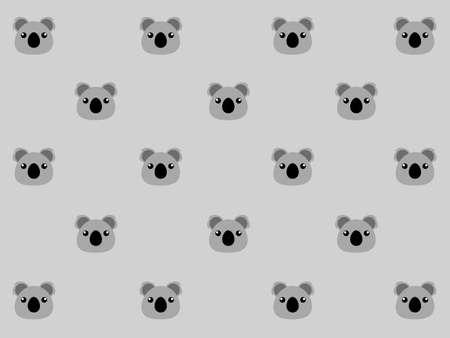Koala Background 矢量图像