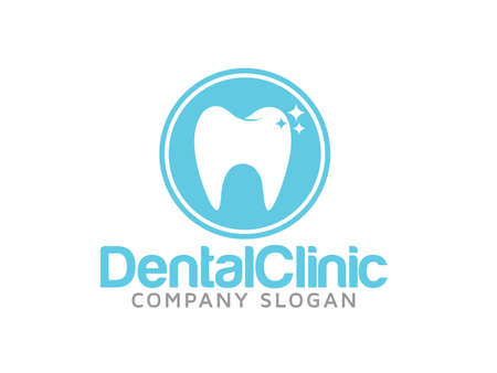 logo medicina: Logo dental Vectores