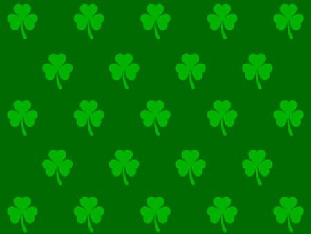 four leaf: Four Leaf Clover Background
