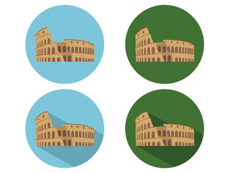 colosseum: Colosseum icons