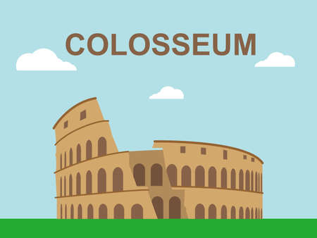Colosseum Illustration Stock Illustratie