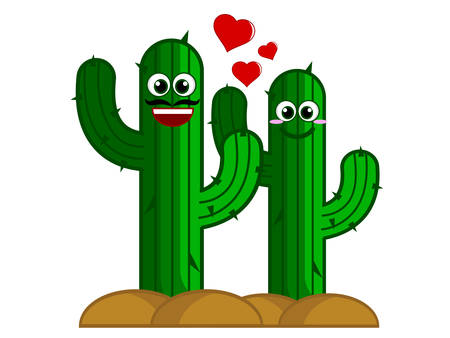 Cute Cactus Illustration