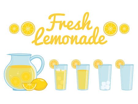 Lemonade isolé Banque d'images - 53860167