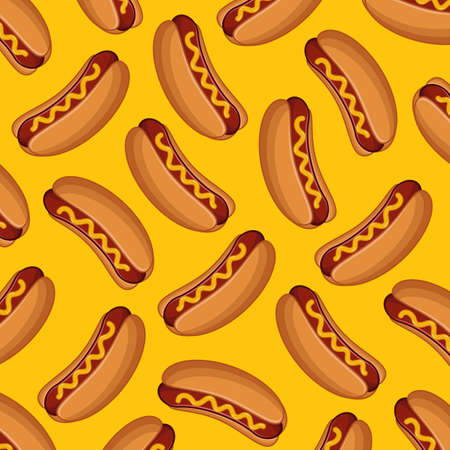 Hot Dog Background