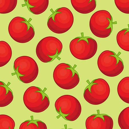 cook cartoon: Tomato Background