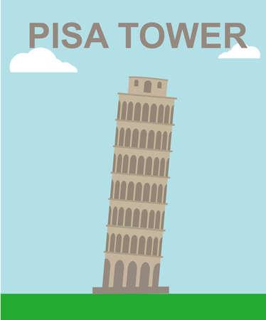 gravitational field: Pisa tower