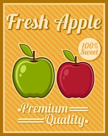 apple leaf: Apple Poster