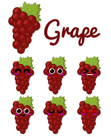 red grape: Red Grape Character