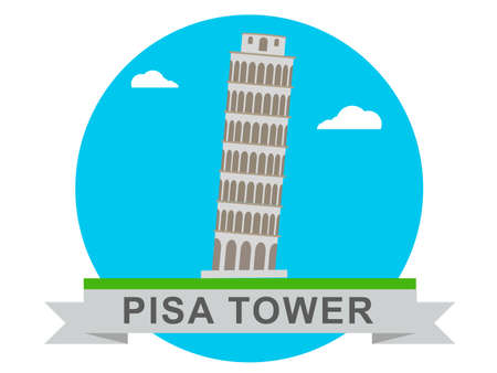 tower of pisa: Pisa Tower Icons