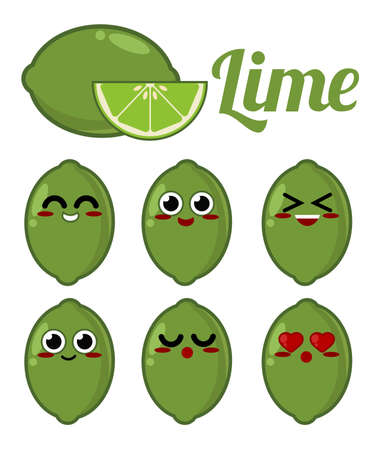 lime: Lime character Illustration