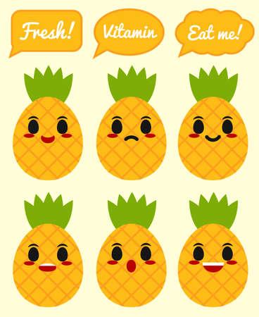 Pineapple character
