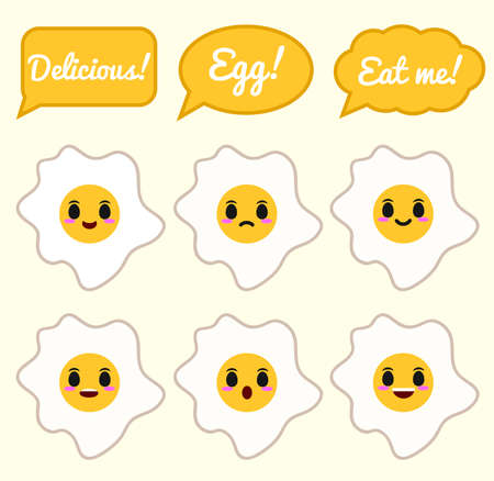 Fried Egg character