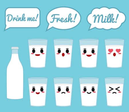 cow milk: Cow milk character
