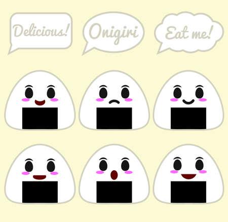 Onigiri character