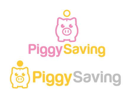 Piggy bank 矢量图像