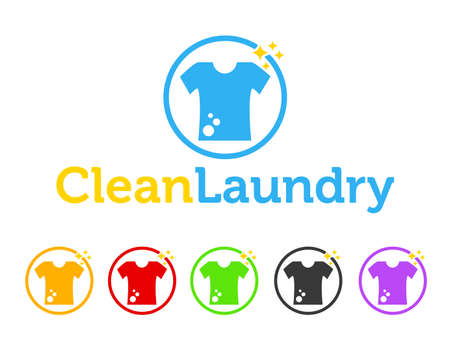 Laundry icon Illustration