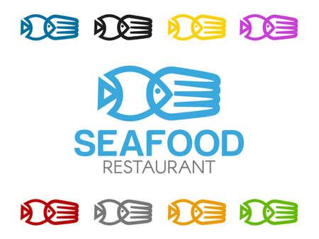 illustration: Seafood illustration