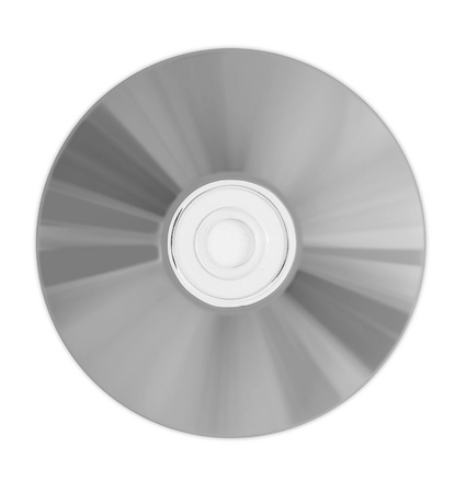 bluray: cd, dvd, bluray disc isolated on white background Stock Photo