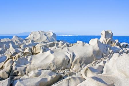 capo: famous Capo Testa in the north of Isle Sardinia, Italy