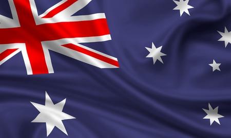 waft: waving flag of australia