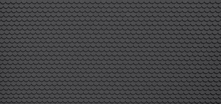 shingle: Black  grey roof tiles, architecture background Stock Photo