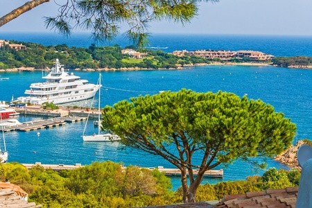 porto: Porto Cervo, Costa Smeralda, Sardinia, Italy Stock Photo