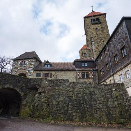 donjon: Castle of Wachenburg in Weinheim, Neckartal-Odenwald