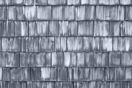 tile cladding: Wood roofing pattern detail