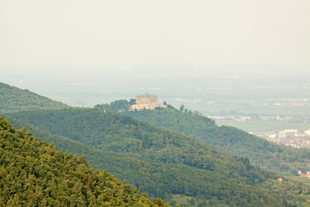 proclamation: Castle Hambacher Schloss - birthplace of german democracy