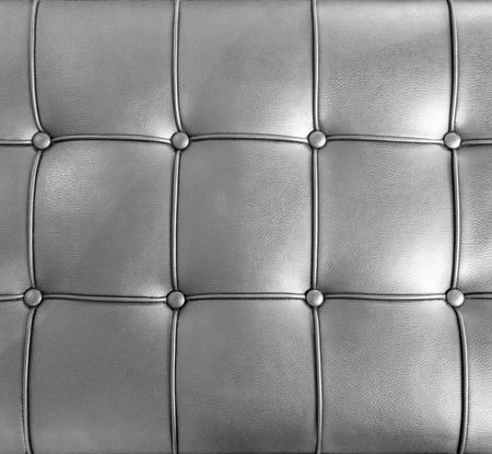 arredamento classico: Lussuosa pelle nera mobili texture con bottoni