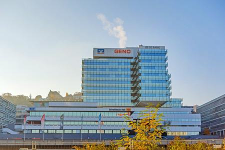 companionship: Stuttgart, Alemania - 1 de noviembre de, 2013: GENO Stuttgart-Haus (casa de Compa�erismo). Es el centro y punto de referencia de la Organizaci�n Compa�erismo Wurttemberg.