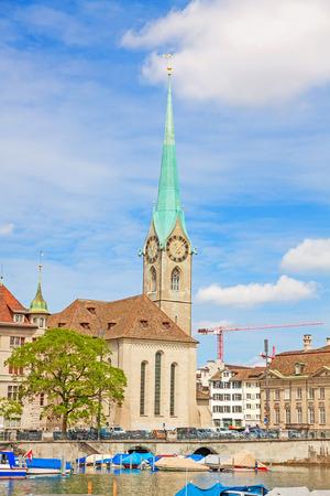 Fraumunster in Zurich, Switzerland