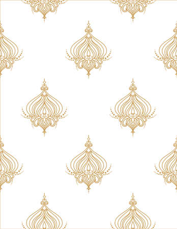 Vintage floral pattern Flower seamless vector wall coverings