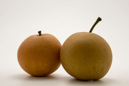asian pear: Couple of nashi asian pears