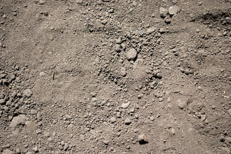 Dry Gray Soil Drougt Texture Stock Photo
