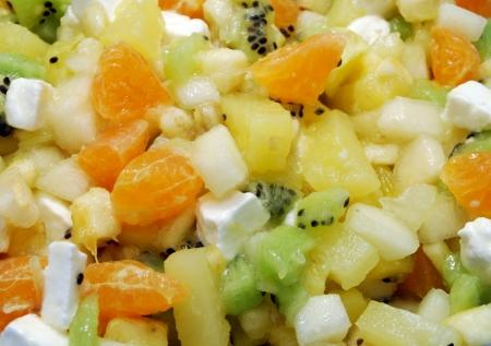 Fruit Salad  Orange, Apple, Pears, Kiwi, Banana, Marshmallow