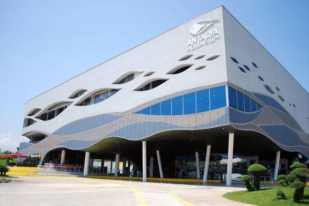 Antalya, Turkey - June 23, 2015, Antalya Aquarium Museum Building Main View Editorial