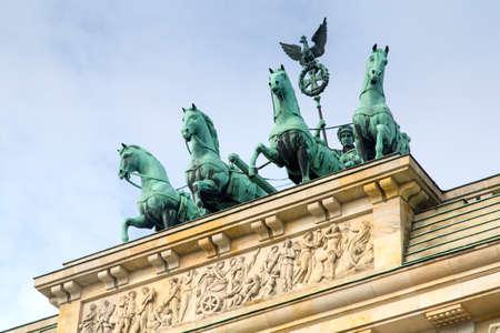 Berlino - Porta di Brandeburgo Archivio Fotografico - 76273610
