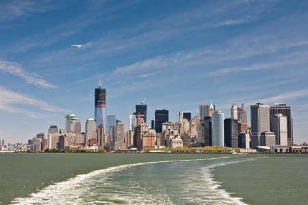 New York - Lower Manhattan Stock Photo