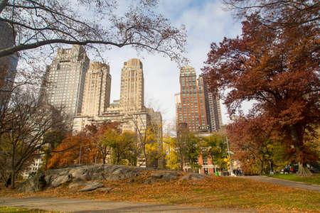 New York - Central Park Stock Photo