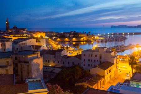 Sardinia - Alghero Фото со стока