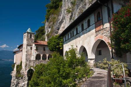 Lake Maggiore - Hermitage of Santa Caterina del Sasso