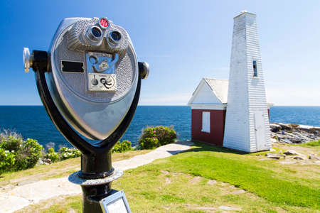The Pemaquid Point Light is a historic U.S. lighthouse located in Bristol, Lincoln County, Maine