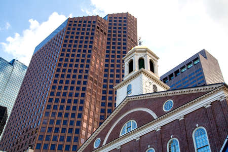 Boston, Faneuil Hall, the Cradle of Liberty. Editorial
